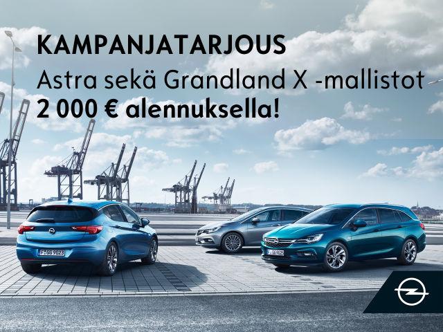 Kesäkuun Opel kampanjaedut