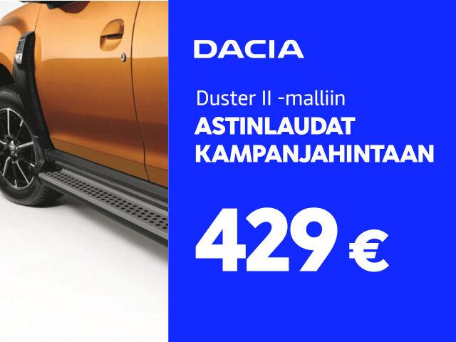 Astinlaudat Dacia Dusteriin