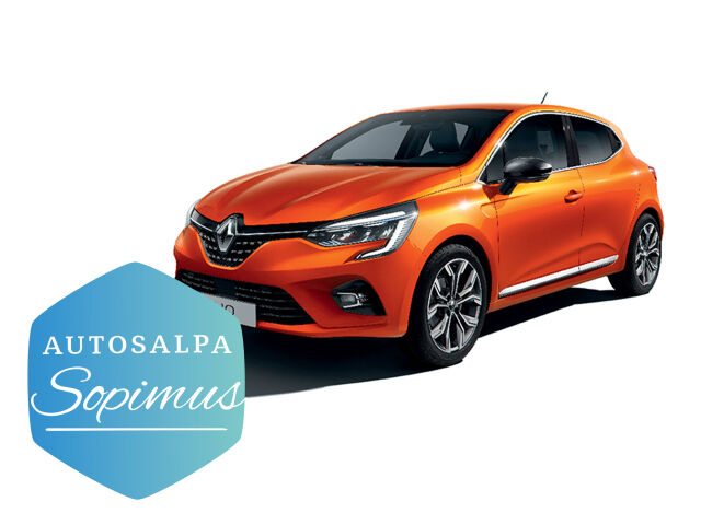 ERÄ: Renault Clio TCe 100 Intens esim. 199 € / kk