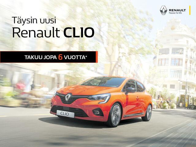 Täysin uusi Renault Clio