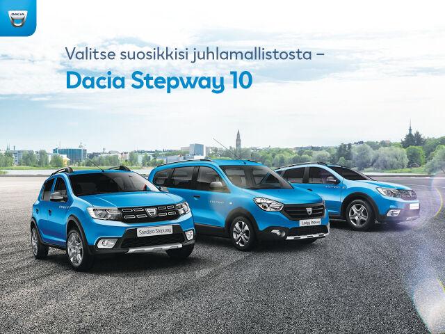 Dacian Stepway 10 -juhlamallisto