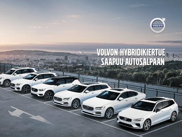 Volvon hybridikiertue Autosalvassa