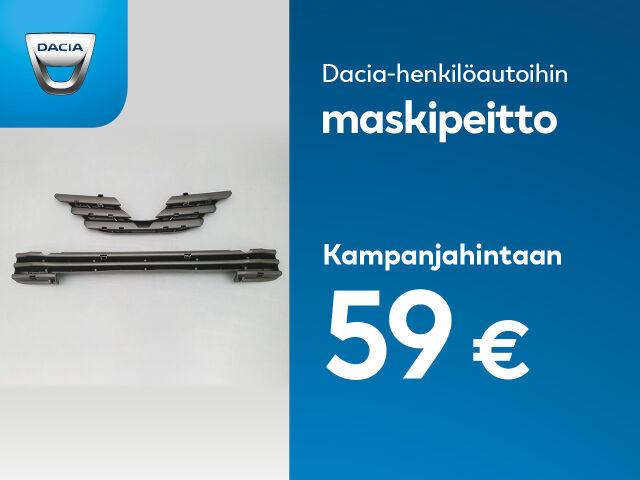 Maskipeitto Dacia-ajoneuvoihin