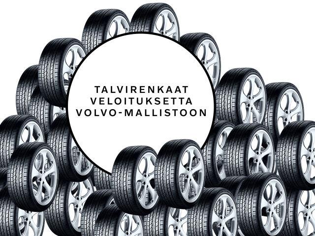 Uuden Volvon ostajalle talvirenkaat veloituksetta