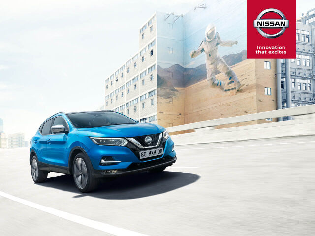 Nissan Qashqai: talvipaketti ja automaattivaihteisto 0 €