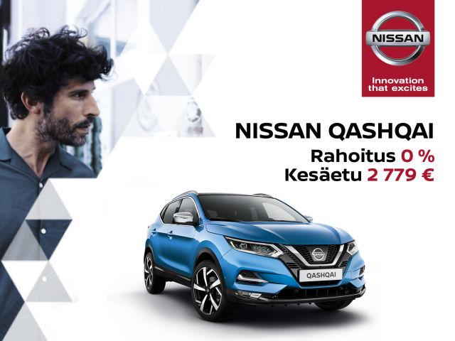 Nissan Qashqai -etusi