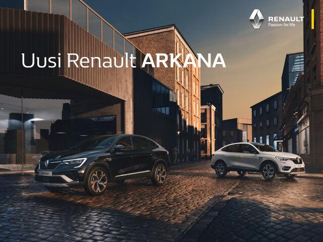 Koeaja uusi Renault Arkana