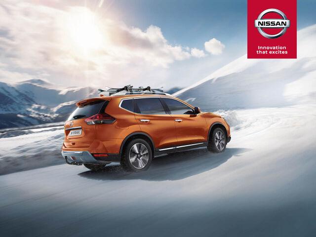 Nissan X-Trail: talvipaketti veloituksetta