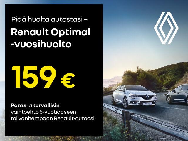Renault Optimal -huoltohinta