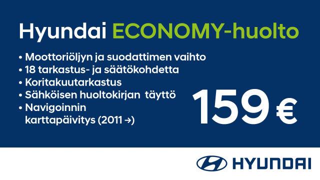 Hyundai Economy -vuosihuolto yli 5-vuotiaille autoille