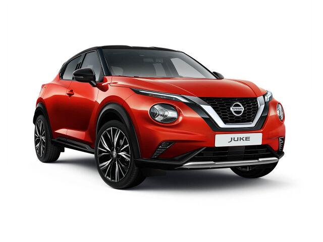 Uusi Nissan Juke AUT. esim. 329 € / kk