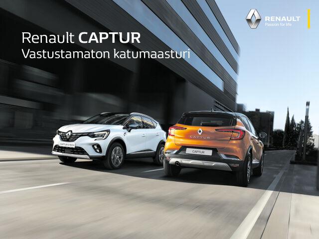 Erä autoja edullisesti: Renault Captur TCe 130 EDC7-aut Festival