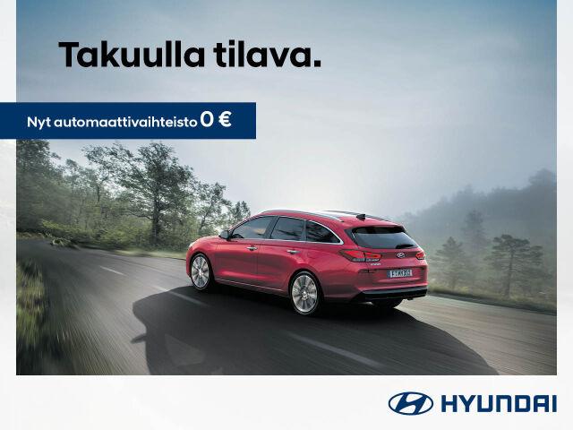 Hyundai i30 Fresh -mallistoon automaatti veloituksetta