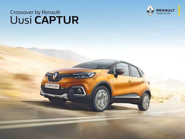 Erä Renault Captureita 2 000 € edulla!