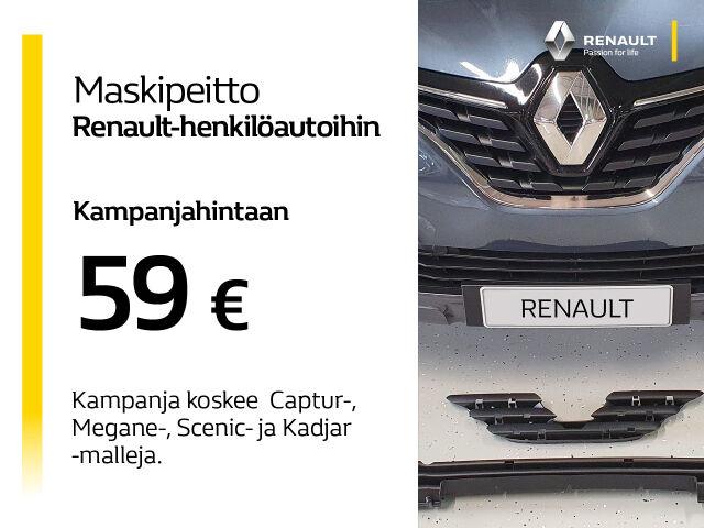Maskipeitto Renault-henkilöautoihin