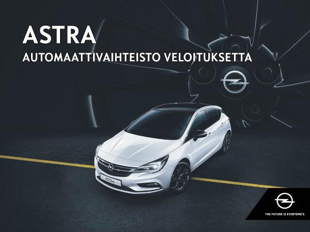 Automaattivaihteisto kaupan päälle Opel Astraan