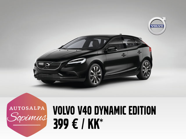 Volvo V40 Dynamic Edition 399 € / kk