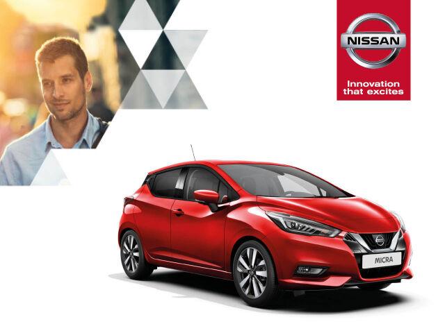 Rajoitettu erä Nissan Micra-malleja kampanjahintaan