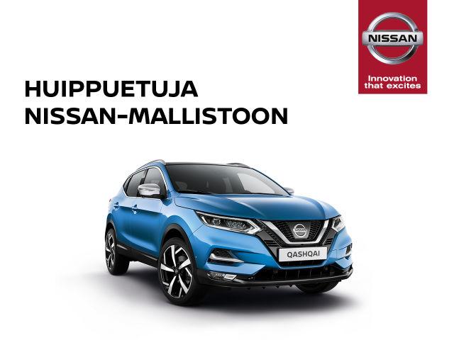 Huippuetuja Nissan-mallistoon