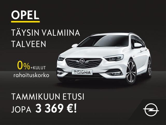 Opelin tuntuvat tammikuun edut!