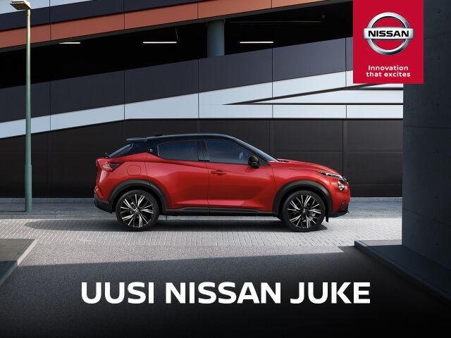 Uusi Nissan Juke: talvipaketti etuhintaan