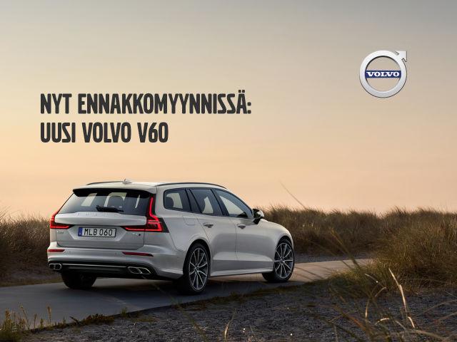 Uusi Volvo V60 - nyt koeajettavissa!