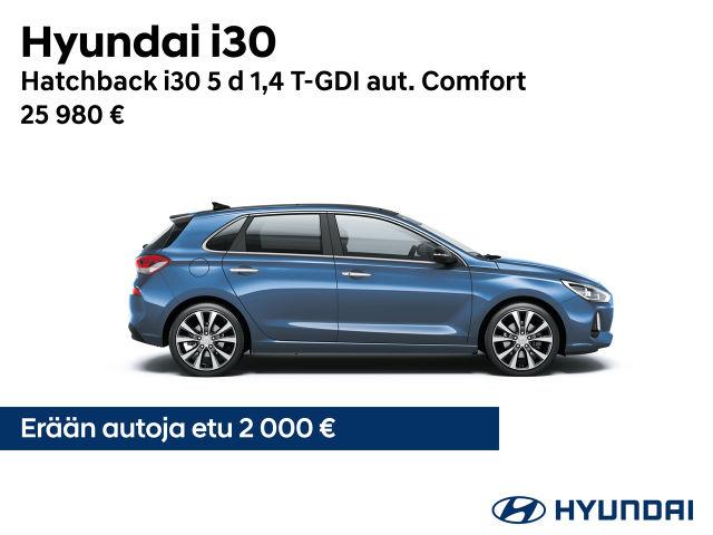 Hyundai i30: kesäetu 2 000 €