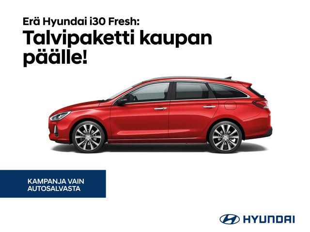 Hyundai i30 Fresh: talvipaketti kaupan päälle!
