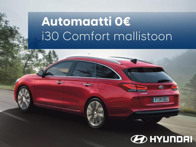 Hyundai i30 Comfort mallistoon automaattivaihteisto 0€