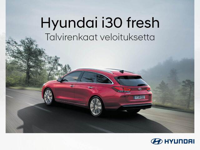 Talvirenkaat veloituksetta Hyundai i30 fresh -malleihin
