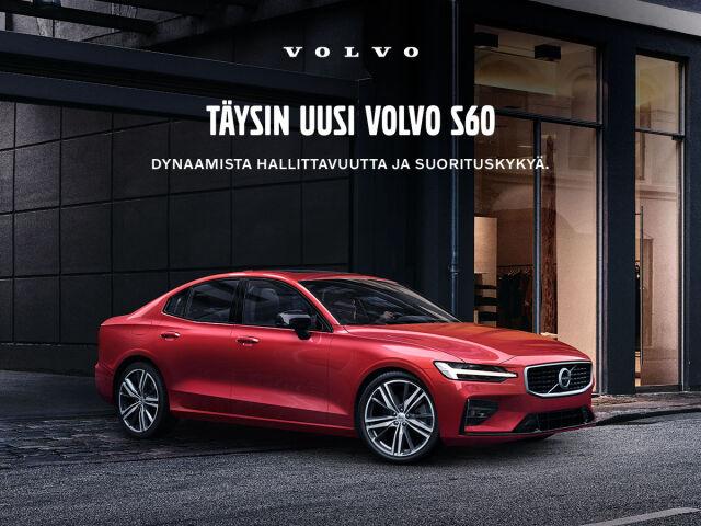 Täysin uusi Volvo S60 ensiesittelyssä