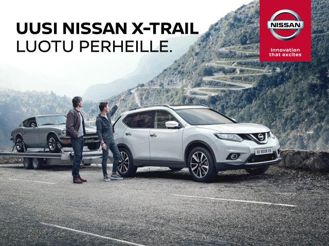 ENSIESITTELYSSÄ: Uusi Nissan X-Trail