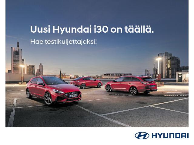 Uusi Hyundai i30 - hae testikuljettajaksi