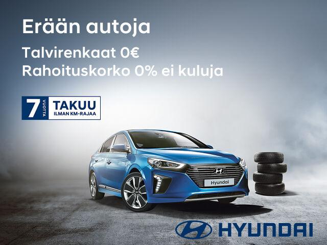 Lokakuun tuntuvat Hyundai edut