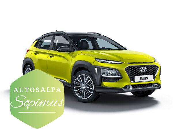 Hyundai KONA 1,6 T-GDI Comfort Limited esim. 276 € / kk