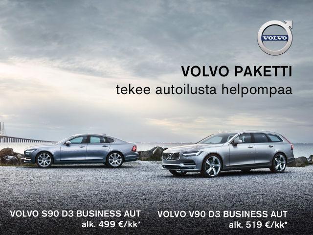 Volvo Paketti - Huippuluokan varustelua