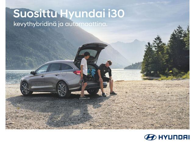 Hyundai i30 -mallistoon automaatti veloituksetta