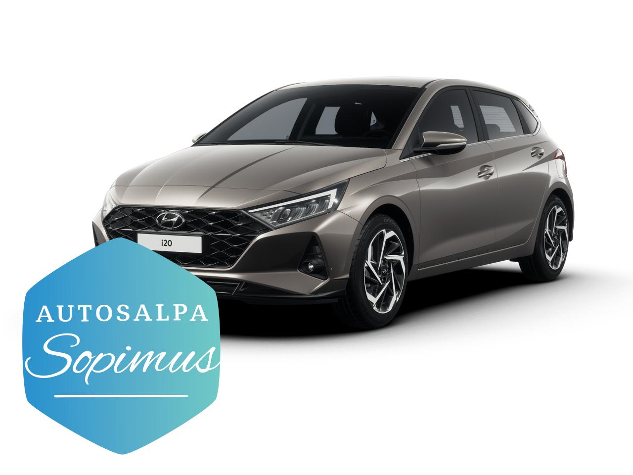 Hyundai i20 Hatchback 1,0 T-GDI Comfort esim. 199 € / kk