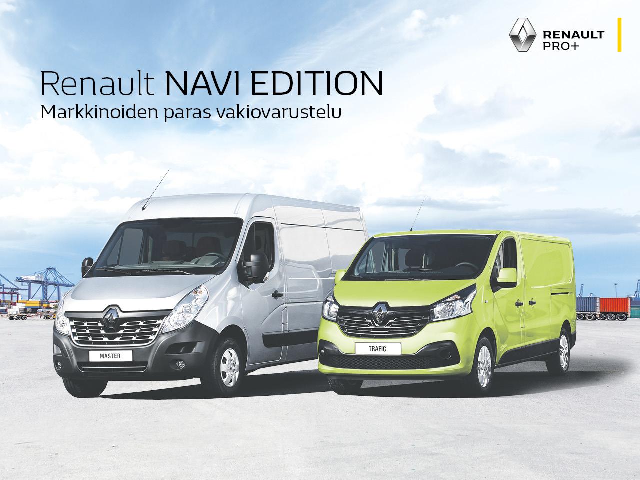 Hyödynnä syysetu Renault-pakettiautoihin