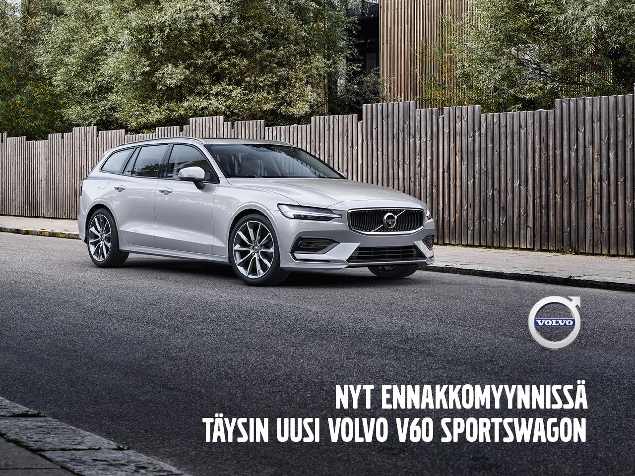 Ennakkomyynnissä: täysin uusi Volvo V60
