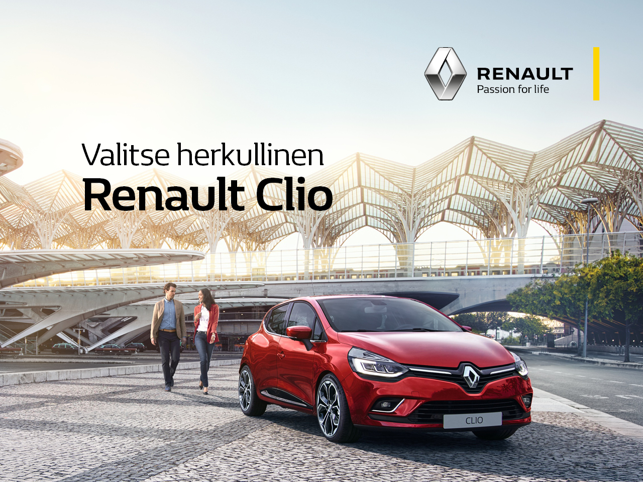 Herkullinen Renault Clio kampanjahintaan