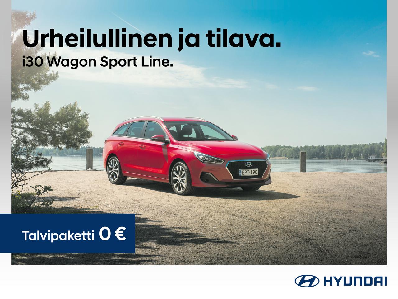 Hyundai i30 Wagon Sportline: talvipaketti 0 €