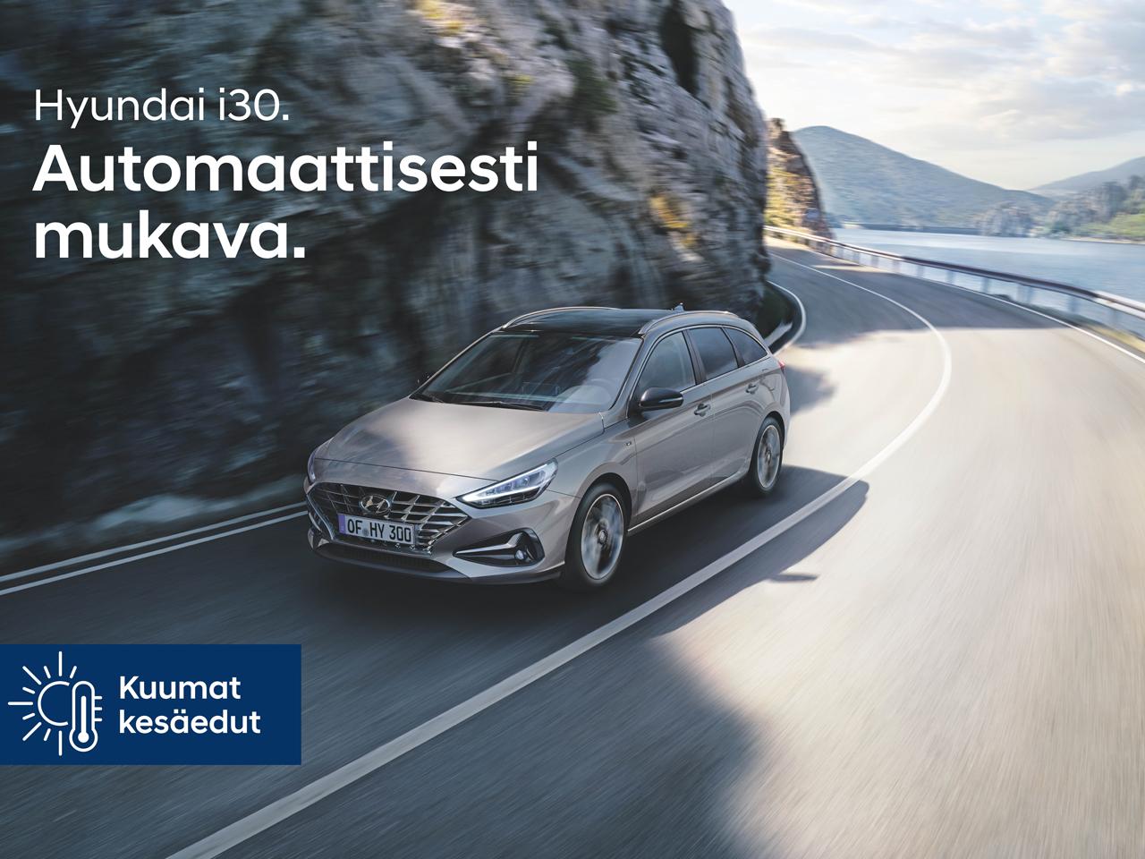 Hyundai i30: automaatti manuaalin hinnalla