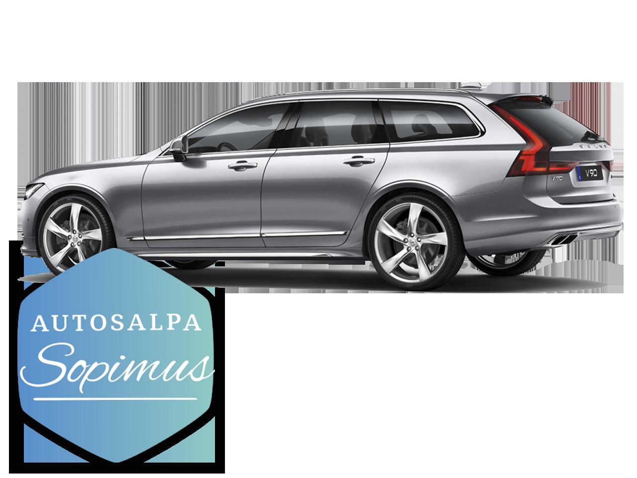 Volvo V90 esim. 669 € / kk