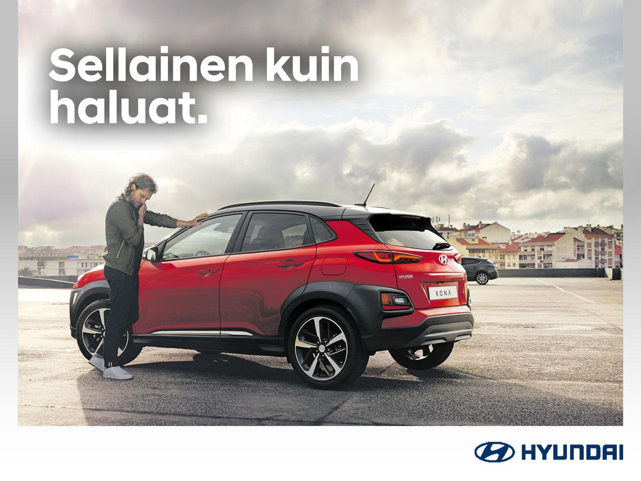 Hyundai Kona -bensamallit: Tehdas Packit -50 %