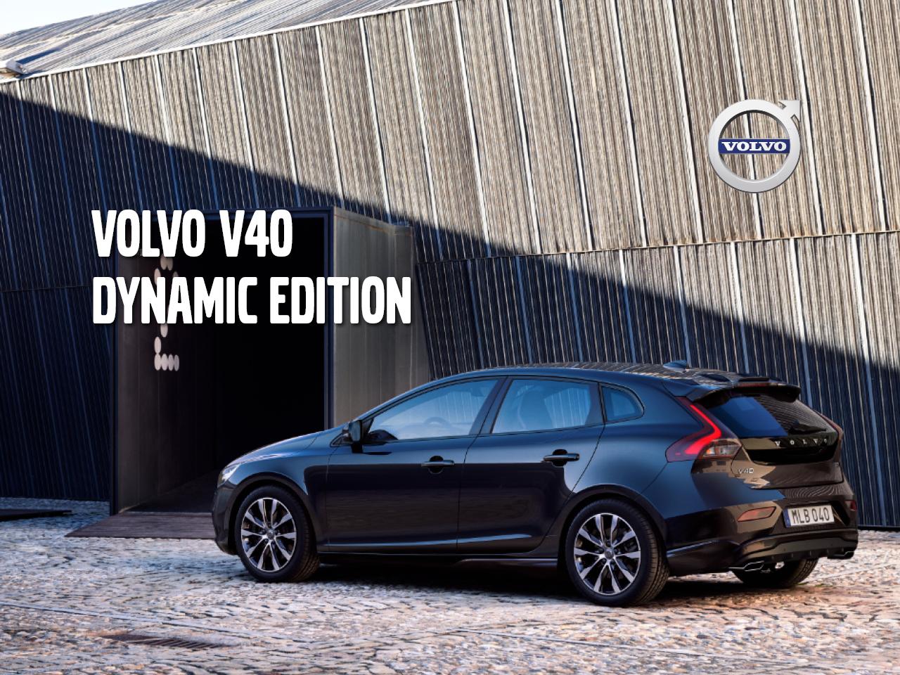 Volvo V40 Dynamic Edition - etusi 2 630 €