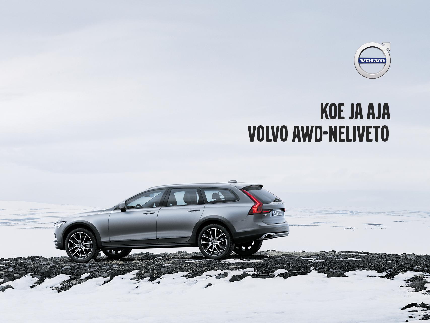 Huippuedut erään Volvon AWD-nelivetomalleja