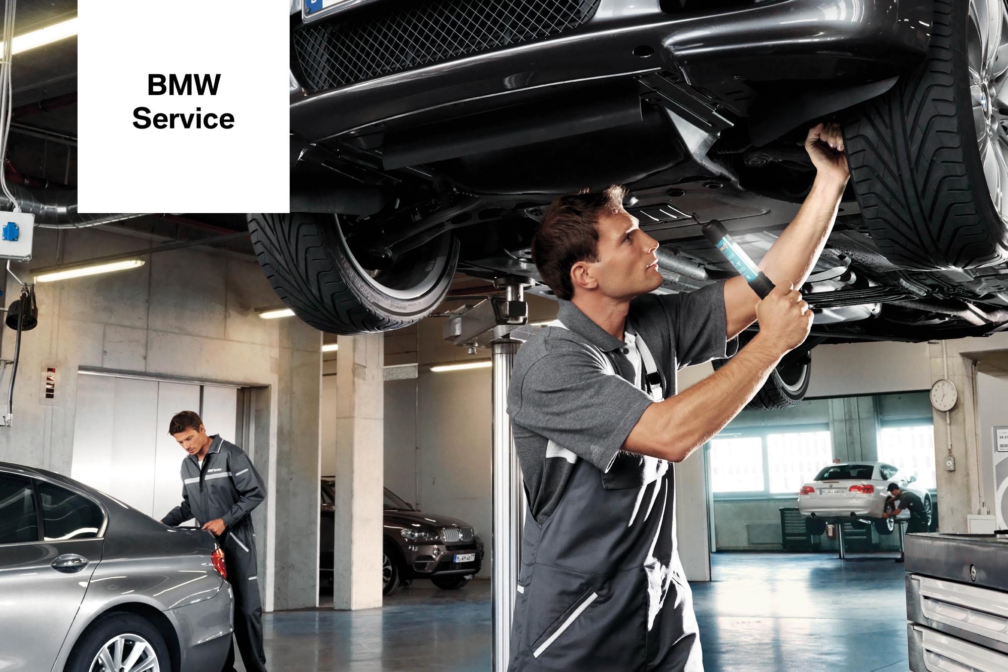 BMW-huollossa saat ensiluokkaista palvelua