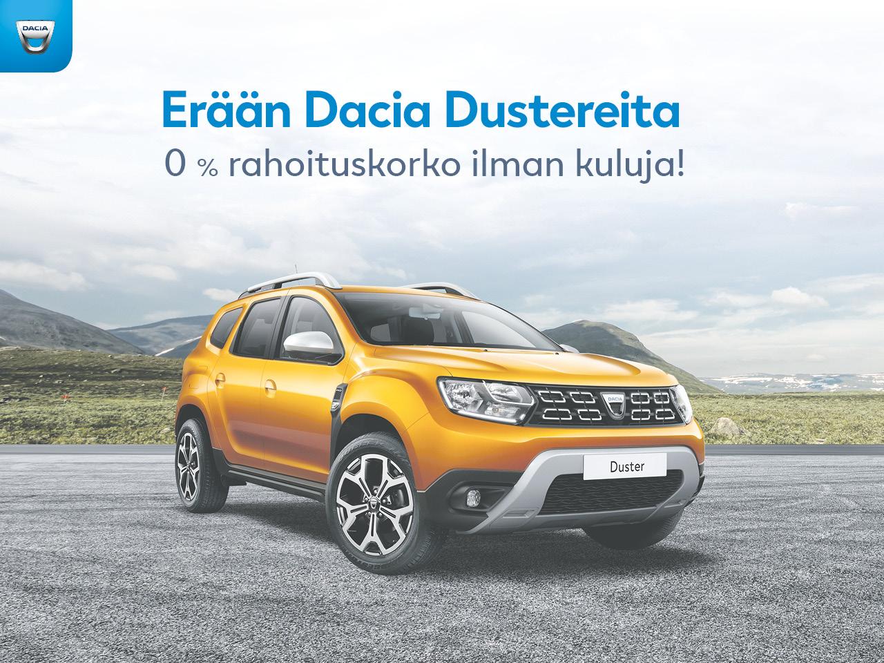 Erä Dacia Dustereita 0 % korolla