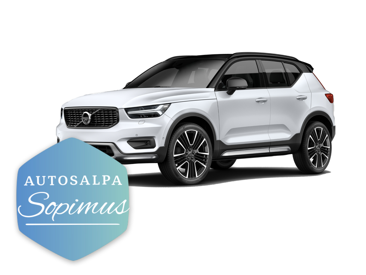 Volvo XC40 T5 TwE Inscription esim. 478 € / kk